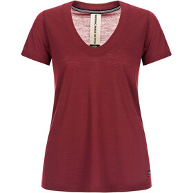 super.natural City T-shirt Dames, pomegranate
